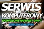 Ogłoszenia naszraciborz.pl: ☎ PROFESJONALNA NAPRAWA KOMPUTERÓW 24H/7 - EKSPRESOWE REALIZACJE - DOJAZD - 10 LAT NA RYNKU IT