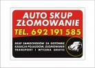 Ogłoszenia naszraciborz.pl: SKUP AUT - Złomowanie Najwyższe ceny w Rybniku Tel 692 191 585 Zadzwoń po darmową wycenę !