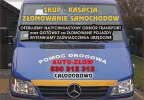 Ogłoszenia naszraciborz.pl: Złomowanie samochodów Rybnik skup kasacja Tel.888-10-20-80