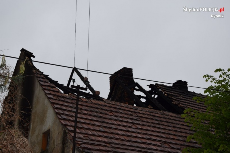 b0243033554255 Rybnicka policja prowadzi śledztwo w sprawie tragicznego pożaru przy Nowej.  Rybnik: