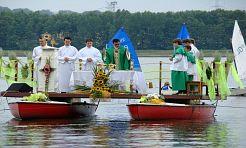 Dobrzeście się modlili! - msza na wodzie - Serwis informacyjny z Rybnika - naszrybnik.com