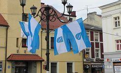 Rynek stał się niebiesko-biały - Serwis informacyjny z Rybnika - naszrybnik.com
