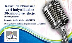 Warsztaty wokalne z Natalią Mańką - Serwis informacyjny z Rybnika - naszrybnik.com