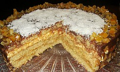 Tort pomarańczowy z marcepanem - Serwis informacyjny z Rybnika - naszrybnik.com