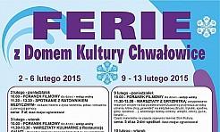 Ferie z Domem Kultury Chwałowice  - Serwis informacyjny z Rybnika - naszrybnik.com