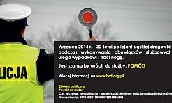 Ranny policjant potrzebuje naszej pomocy - Serwis informacyjny z Rybnika - naszrybnik.com