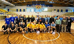 Finał policyjnych mistrzostw w koszykówce - Serwis informacyjny z Rybnika - naszrybnik.com