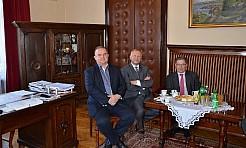 Prezesi EDF z wizytą w Starostwie - Serwis informacyjny z Rybnika - naszrybnik.com