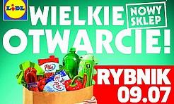Otwarcie czwartego sklepu sieci Lidl w Rybniku już w czwartek! - Serwis informacyjny z Rybnika - naszrybnik.com