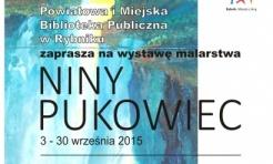 Rybnicka biblioteka zaprasza na wystawę malarską Niny Pukowiec  - Serwis informacyjny z Rybnika - naszrybnik.com