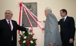 Tablica upamiętniająca prof. Nowomiejskiego stanęła w budynku Politechniki Śląskiej - Serwis informacyjny z Rybnika - naszrybnik.com