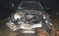 Pijany kierowca wjechał w drzewo  - Serwis informacyjny z Rybnika - naszrybnik.com