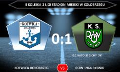 Komplet punktów wrócił do Rybnika. ROW lepszy od Kotwicy! - Serwis informacyjny z Rybnika - naszrybnik.com