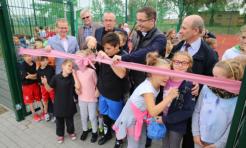 Nowe boisko wielofunkcyjne na Rajskiej - Serwis informacyjny z Rybnika - naszrybnik.com