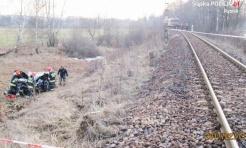 Wypadek na przejeździe kolejowym - Serwis informacyjny z Rybnika - naszrybnik.com