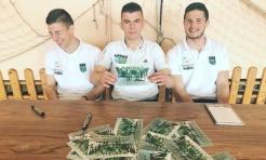 Czyste futbolowe szaleństwo. Ponad 350 dzieci na spotkaniu z zawodnikami ROW Rybnik - Serwis informacyjny z Rybnika - naszrybnik.com