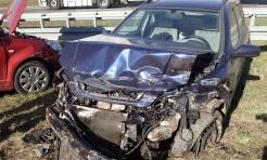 Wypadek dwóch samochodów na autostradzie A1 - Serwis informacyjny z Rybnika - naszrybnik.com