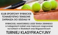 Rybnicka Amatorska Liga Tenisa Ziemnego - Serwis informacyjny z Rybnika - naszrybnik.com