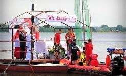 Jubileuszowa Msza Święta na wodzie - Serwis informacyjny z Rybnika - naszrybnik.com