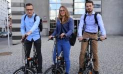 Rybniccy urzędnicy na rowerach - Serwis informacyjny z Rybnika - naszrybnik.com