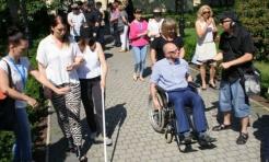 Wczuli się w rolę osoby niepełnosprawnej - Serwis informacyjny z Rybnika - naszrybnik.com