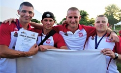 Strażak z Rybnika w srebrnej drużynie mistrzostw Europy TFA - Serwis informacyjny z Rybnika - naszrybnik.com