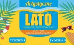 Artystyczne Lato z Domem Kultury w Boguszowicach - Serwis informacyjny z Rybnika - naszrybnik.com