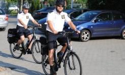 Patrolują na rowerach  - Serwis informacyjny z Rybnika - naszrybnik.com
