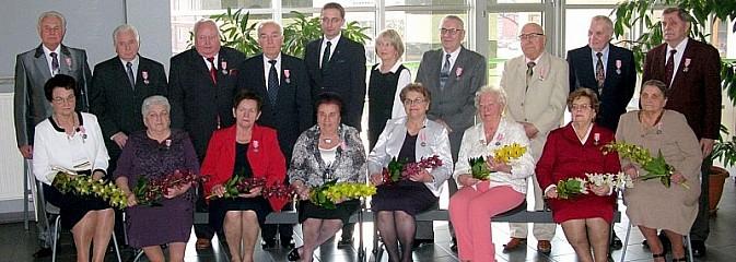 Jubilaci świętowali w magistracie - Serwis informacyjny z Rybnika - naszrybnik.com