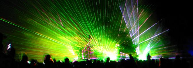 Laserowo-elektroniczny start festiwalu - Serwis informacyjny z Rybnika - naszrybnik.com