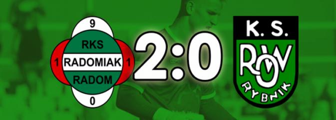Piłkarze ROW-u Rybnik bez punktów w starciu z Radomiakiem - Serwis informacyjny z Rybnika - naszrybnik.com
