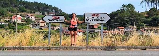 Absolwentka rybnickiego G7 opowiedziała uczniom o swej wyprawie do Santiago de Compostela - Serwis informacyjny z Rybnika - naszrybnik.com