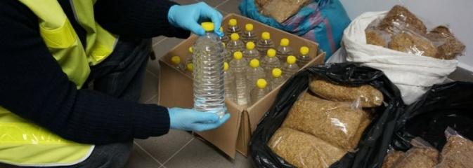 Policjanci zabezpieczyli nielegalny alkohol, tytoń i papierosy - Serwis informacyjny z Rybnika - naszrybnik.com