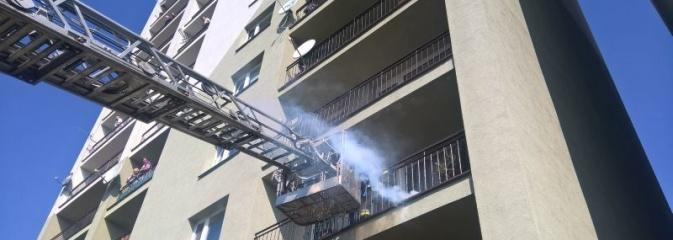 Ćwiczenia rybnickich strażaków w budynkach wielorodzinnych wysokich - Serwis informacyjny z Rybnika - naszrybnik.com