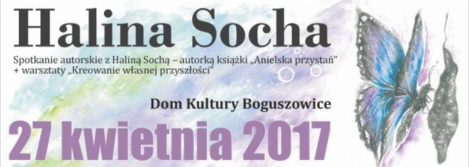 Spotkanie autorskie i warsztaty z Haliną Sochą - Serwis informacyjny z Rybnika - naszrybnik.com