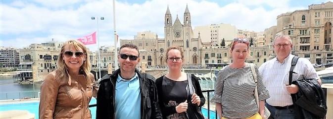 Nauczyciele z rybnickiego G7 szkolili się na Malcie - Serwis informacyjny z Rybnika - naszrybnik.com