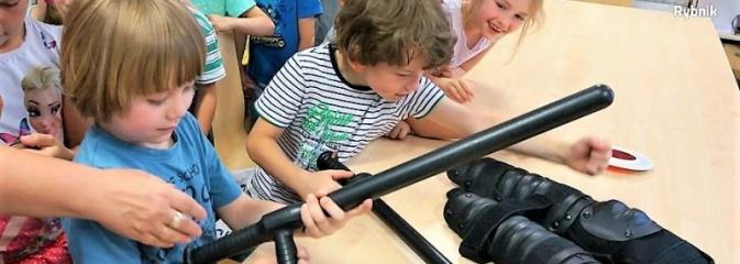 Przedwakacyjna wizyta dzieci w rybnickiej komendzie - Serwis informacyjny z Rybnika - naszrybnik.com
