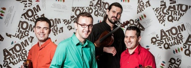 Koncert Atom String Quartet w Rybniku - Serwis informacyjny z Rybnika - naszrybnik.com