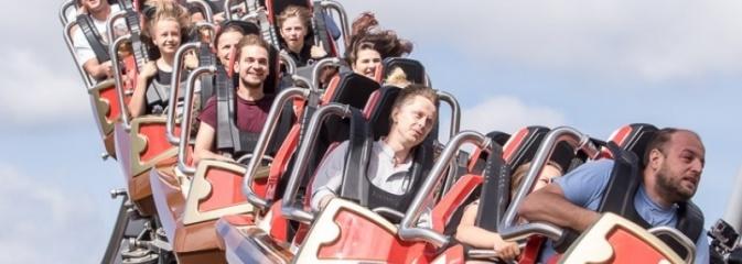 104 sekundy na adrenalinie. Ruszył największy rollercoaster w Polsce - Serwis informacyjny z Rybnika - naszrybnik.com