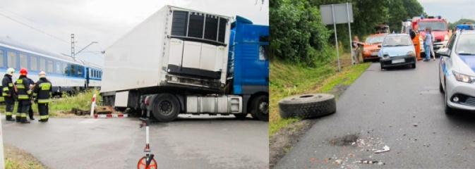 Groźne zdarzenie na przejeździe kolejowym - Serwis informacyjny z Rybnika - naszrybnik.com
