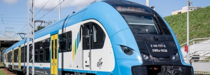 Powitanie pierwszego Elfa 2, nowego pociągu Kolei Śląskich - Serwis informacyjny z Rybnika - naszrybnik.com