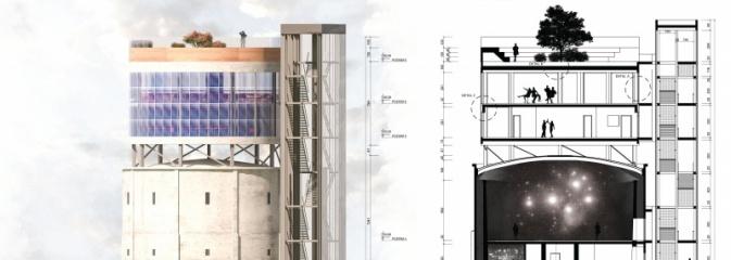 Wieża ciśnień - laboratorium nowych technologii  - Serwis informacyjny z Rybnika - naszrybnik.com