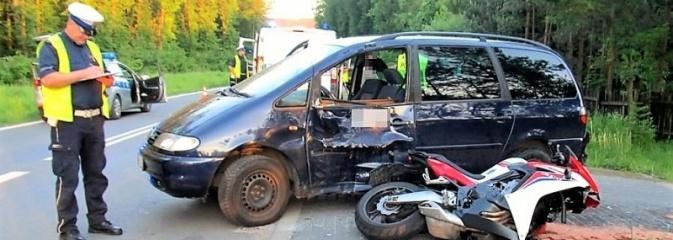 Nieustąpienie pierwszeństwa przyczyną wypadku przy Tkoczów - Serwis informacyjny z Rybnika - naszrybnik.com
