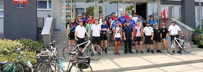 Charytatywna sztafeta rowerowa dotarła do Rybnika - Serwis informacyjny z Rybnika - naszrybnik.com