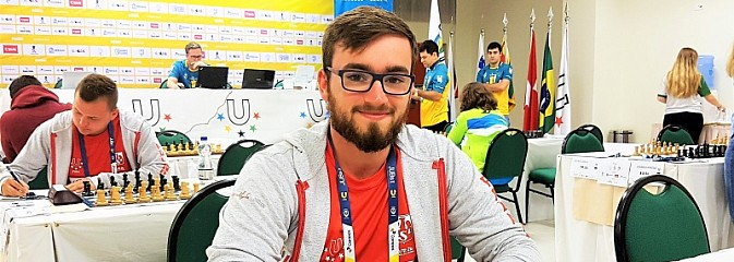 Rybniczanin akademickim wicemistrzem świata w szachach - Serwis informacyjny z Rybnika - naszrybnik.com