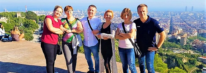 Nauczyciele rybnickiej SP 36 w Barcelonie - Serwis informacyjny z Rybnika - naszrybnik.com