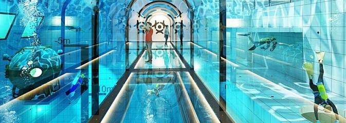 Takie cudo przydałoby się w Rybniku. Powstaje najgłębszy basen w Polsce  - Serwis informacyjny z Rybnika - naszrybnik.com
