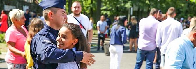 Nowi policjanci złożyli ślubowanie [FOTO] - Serwis informacyjny z Rybnika - naszrybnik.com
