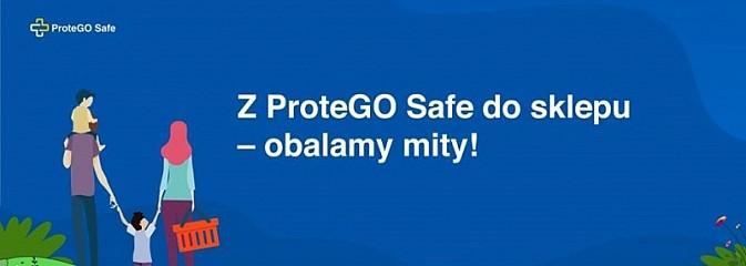 Z ProteGO Safe do sklepu. Ministerstwo Cyfryzacji obala mity - Serwis informacyjny z Rybnika - naszrybnik.com