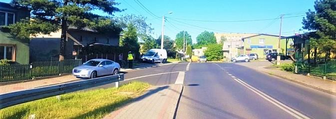 Rowerzystka wjechała wprost pod nadjeżdżający samochód - Serwis informacyjny z Rybnika - naszrybnik.com